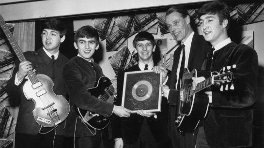 George Martin + Beatles